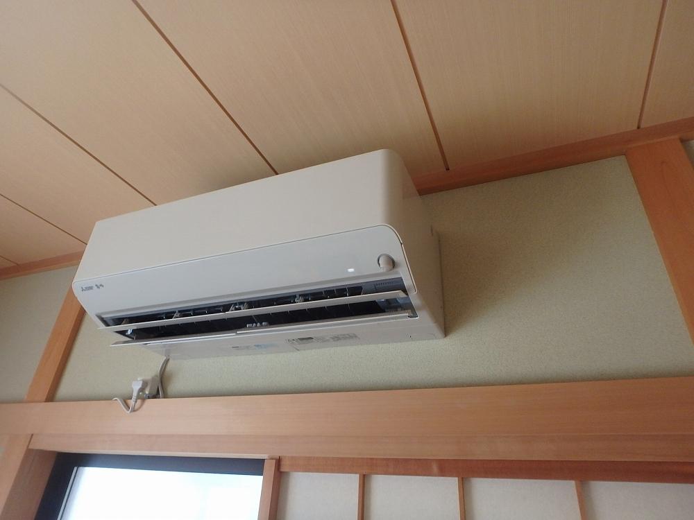 野田市エアコン取付工事