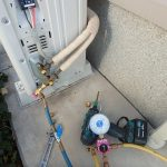 エアコンの移設工事