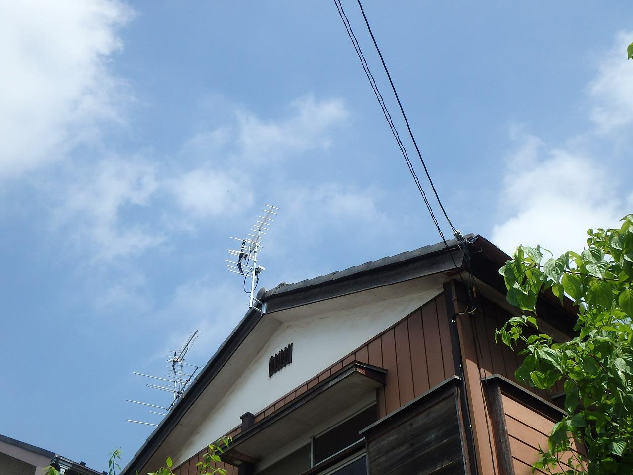 上尾市アンテナ工事