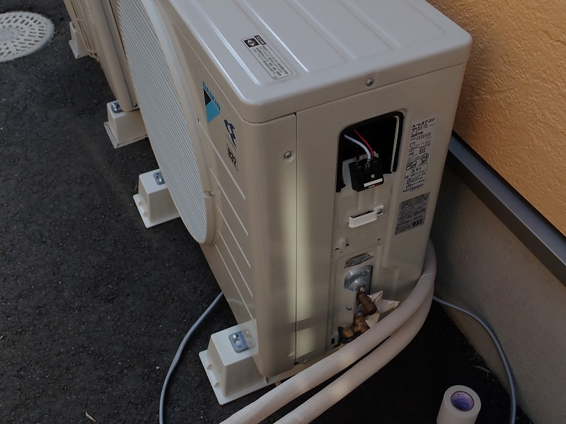茨城県つくばみらい市エアコン工事