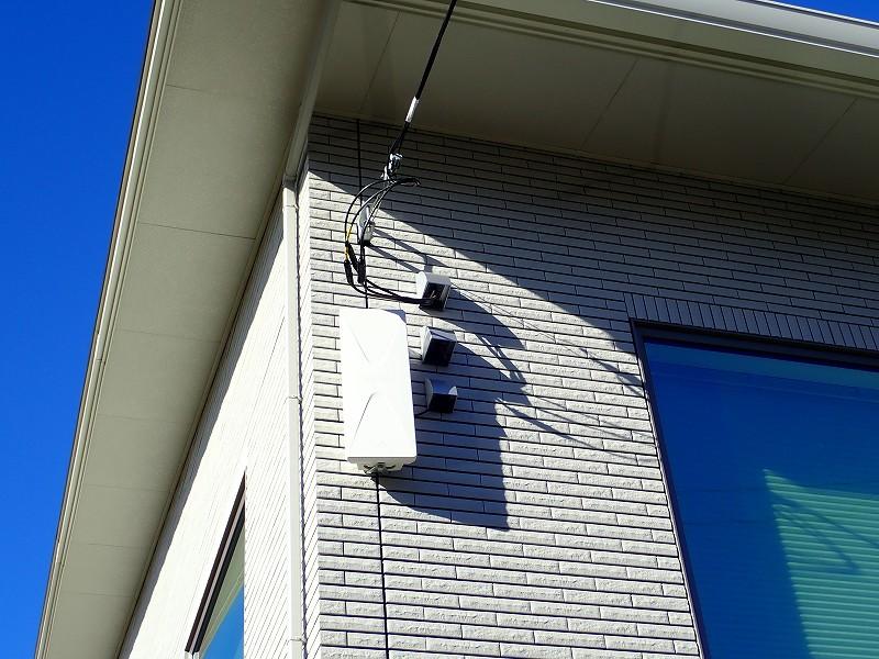 一条工務店 i-smartアンテナ工事