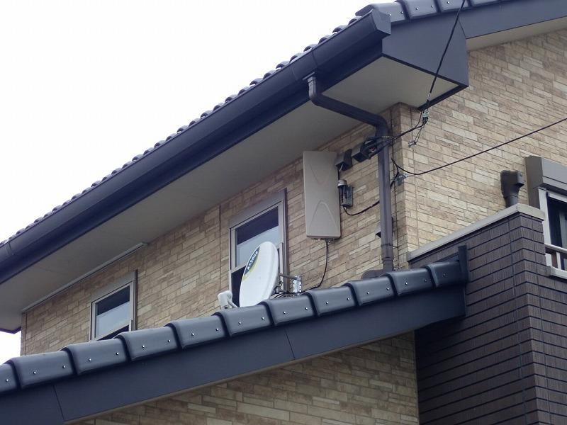 杉戸町ケーブルテレビをやめてアンテナ工事